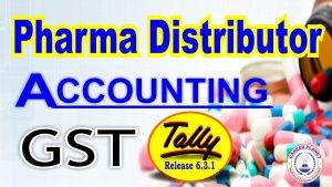 pharma company accounting