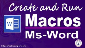 macros in Microsoft Word