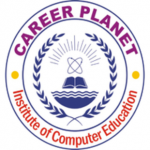 logo career planet computer education Udaipur