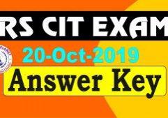 rscit answer key 20 October 2019